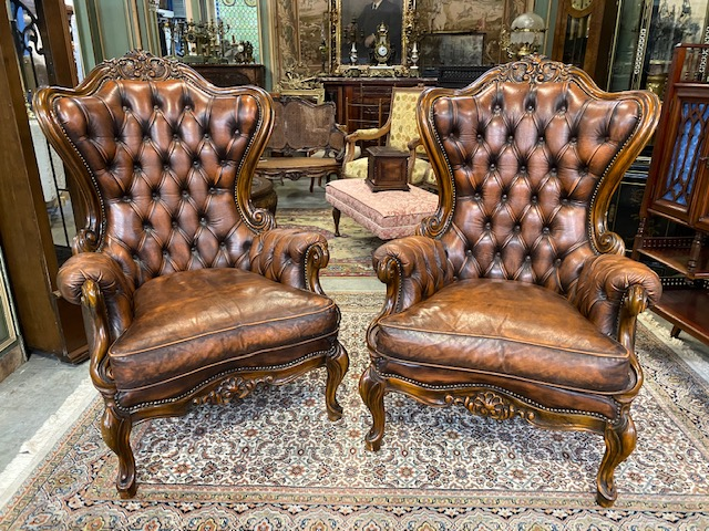 SET ARMCHAIRS