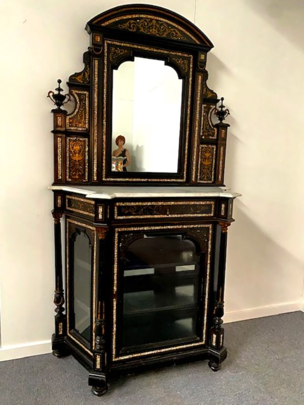 BOULLE COMMODE