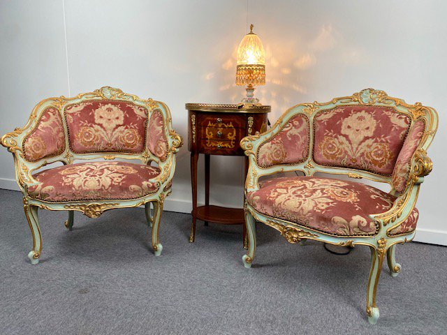 NICE SET ANTIQUE CHAIRS